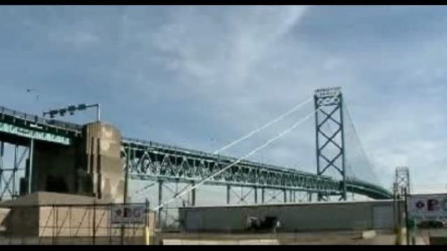 Ambassador Bridge work