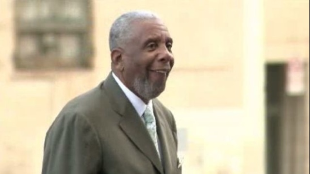 Bernard Kilpatrick outside court Wednesday Detroit