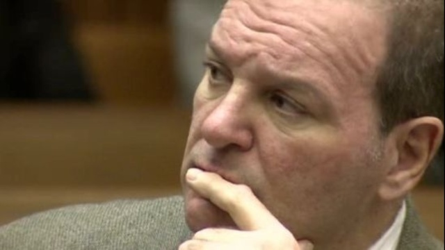 Bob Bashara pensive in court