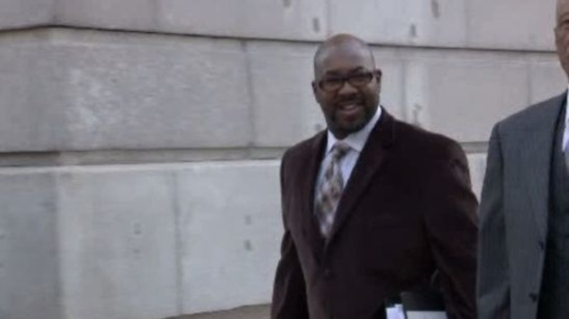 Bobby Ferguson outside court 928