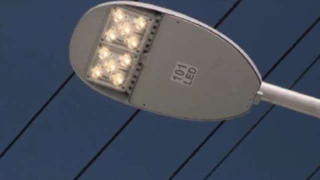 Detroit LED street light