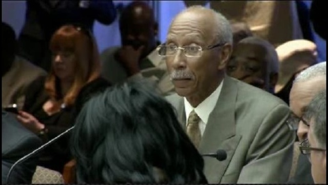 Detroit Mayor Dave Bing at City Council