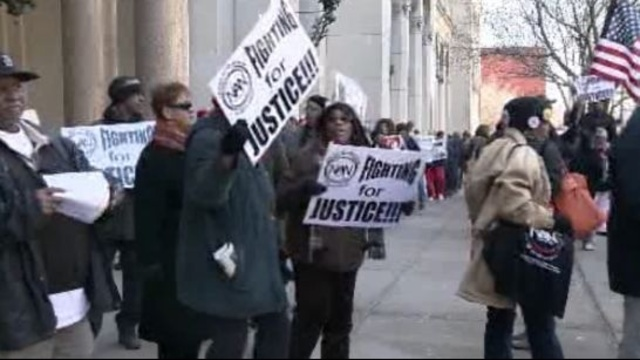 Detroit emergency manager protesters 1