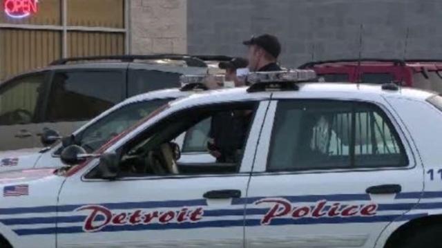 Detroit police car 2