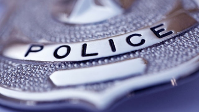 Generic Police badge silver