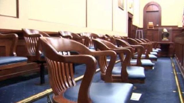 Kilpatrick trial empty jury chairs