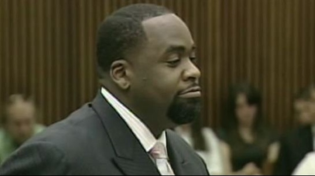 Kwame Kilpatrick in court 1