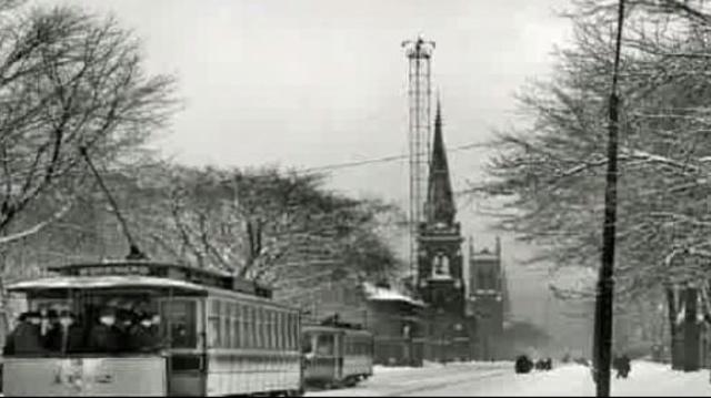 Moonlight Tower Detroit