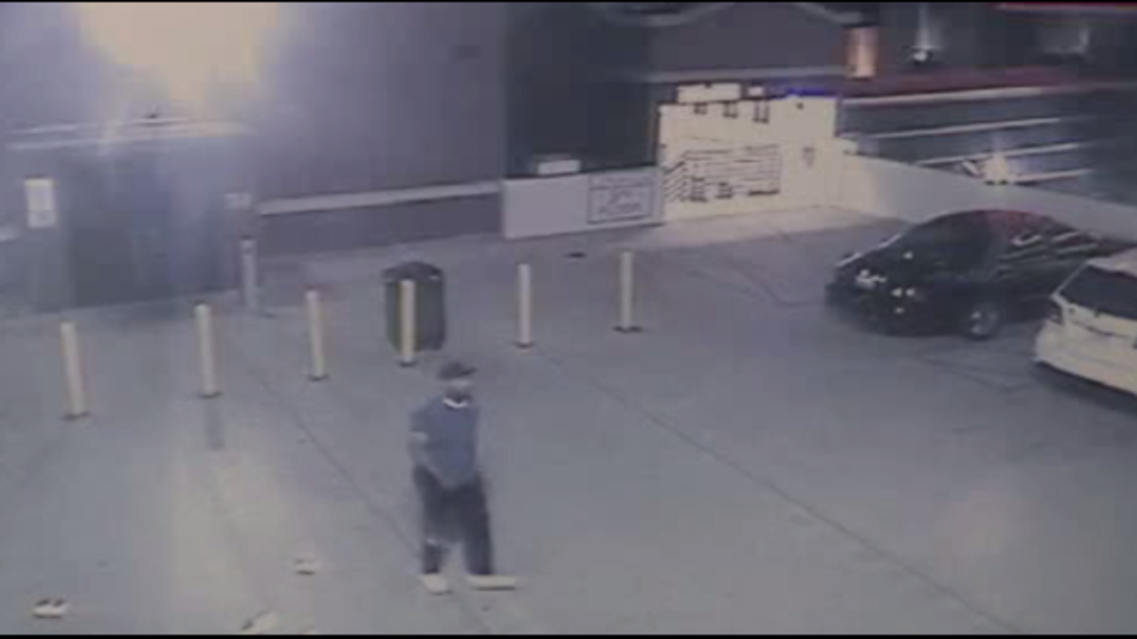 Surveillance Video From Carjacking At Motorcity Casino