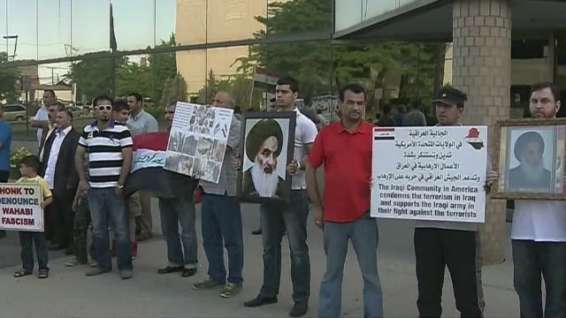 Protest in Dearborn