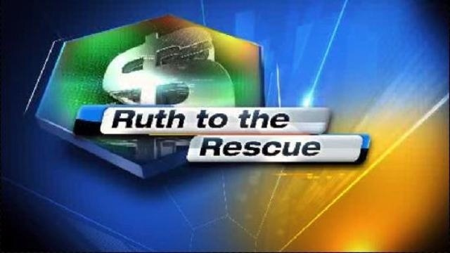 Ruth to the Rescue Logo