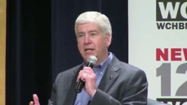 Snyder Detroit Town Hall