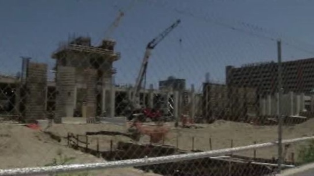 Wayne County jail construction