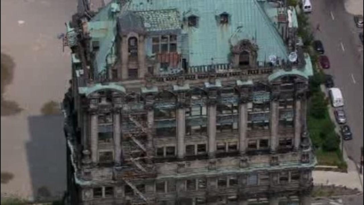 Abandoned Buildings In Detroit Tour