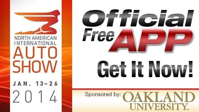 Auto Show app promo 2014
