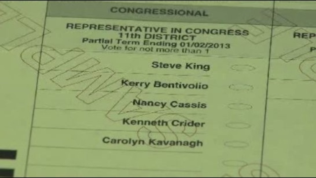 Ballot for Michigan 11th Congressional District special election