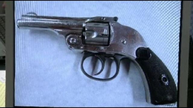 Bob Bashara gun