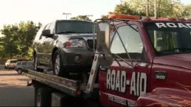 Bob Bashara's car impounded