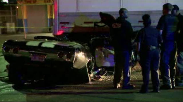 Deadly crash Holbrook and Oakland Detroit 1