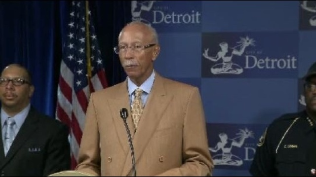 Detroit Mayor Dave Bing Aug 31 2012