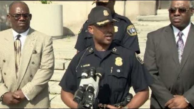 Detroit Police Chief Ralph Godbee 2