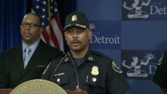 Detroit Police Chief Ralph Godbee suspended