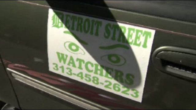 Detroit street watchers