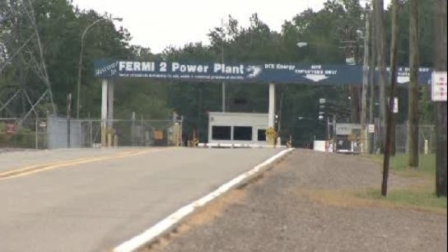 Fermi 2 plant sign