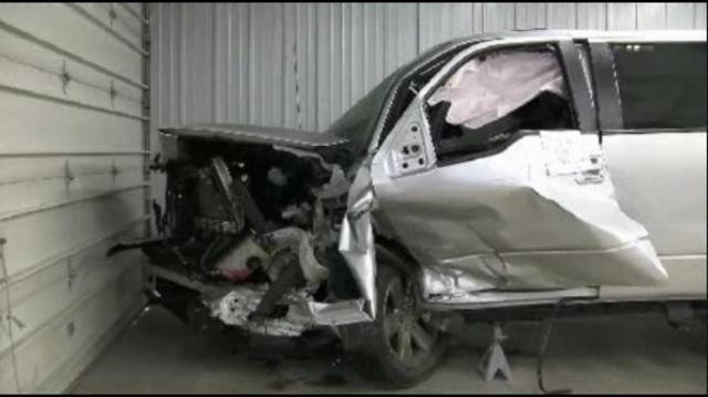 Freedom Township crash vehicle 1