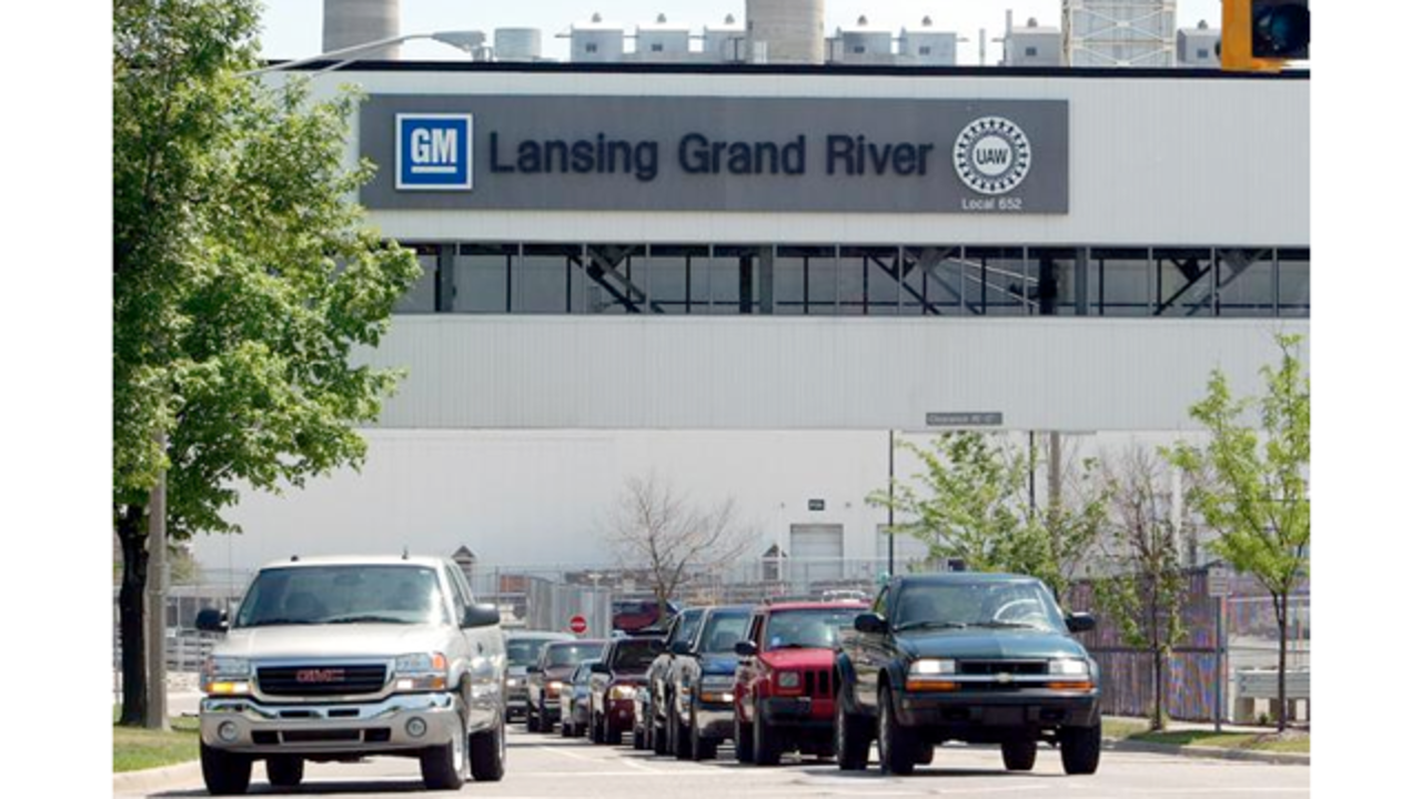 Gm To Start Building Lansing Stamping Facility