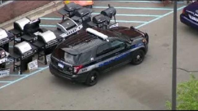 Harper Woods police cars