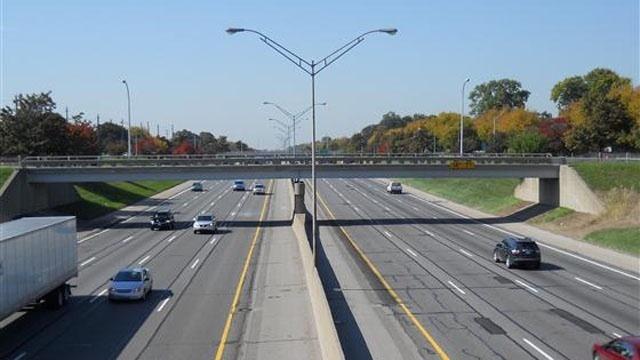 I-96 in Livonia