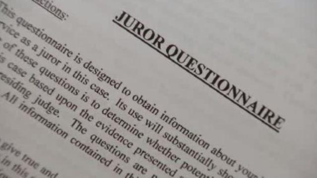 Juror questionairre Kwame Kilpatrick trial