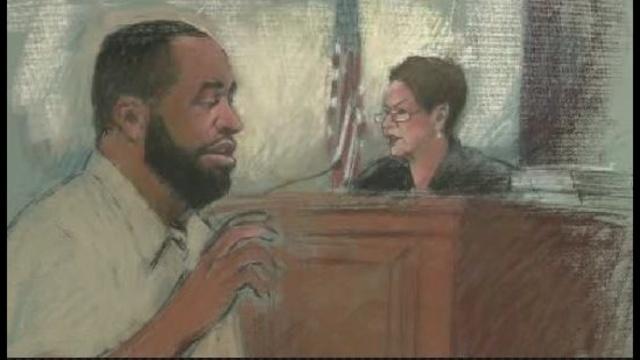 Kilpatrick sentencing sketch 2