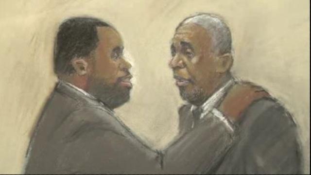 Kwame and Bernard Kilpatrick hug 1