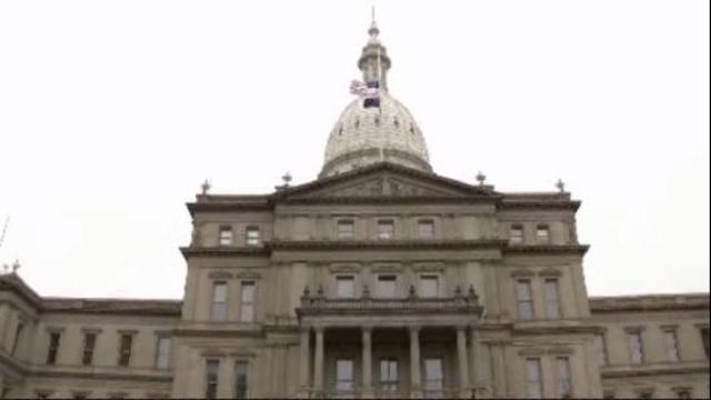 Michigan Capitol building 12102012