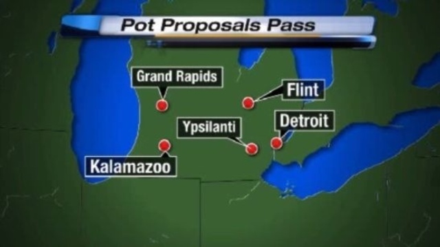 Michigan pot proposals pass