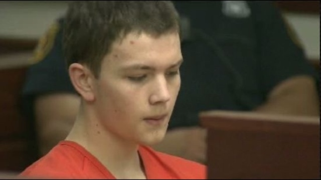 Mitchell Young in court
