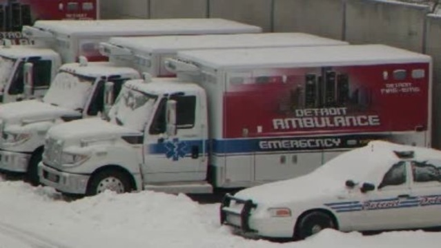 New donated Detroit EMS rigs sitting unused