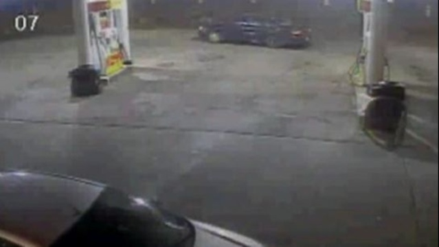 Redford gas station sexually assault suspect car