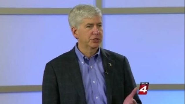 Rick Snyder on Detroit finances