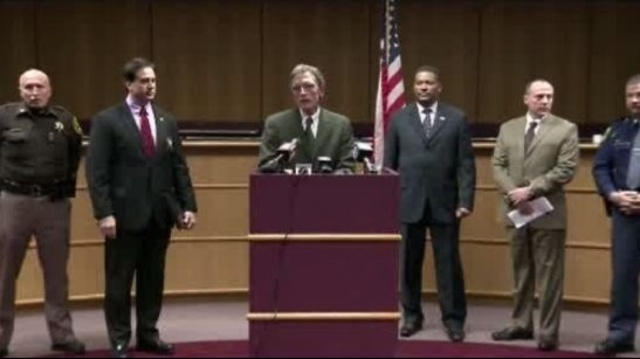 Roadway shootings press conference Monday