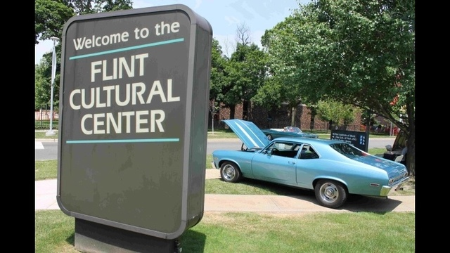 Sloan Auto Fair at the Flint Cultural Center