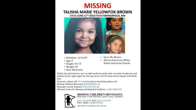 Talisha Marie Yellowfox-Brown poster