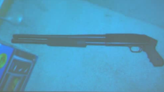 Theodore Wafer's shotgun