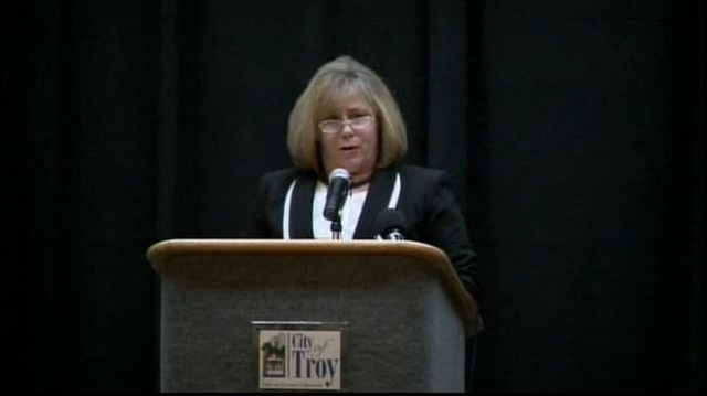 Troy Mayor Janice Daniels state of the city address
