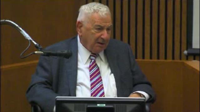 Werner Spitz in Wafer McBride trial