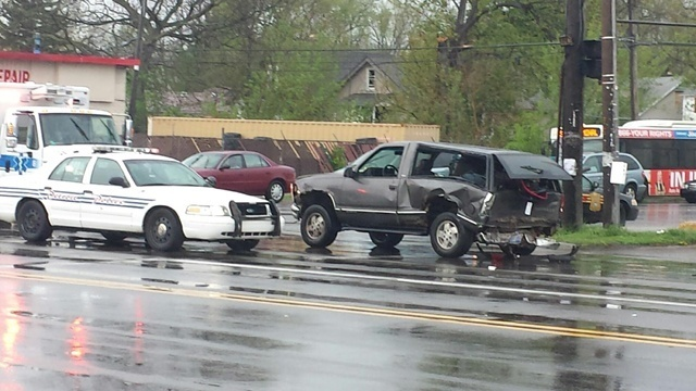 7 Mile and Hayes crash 5