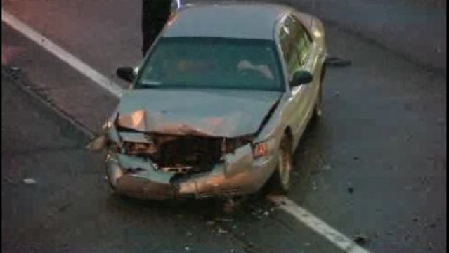 96 at Livernois crash car