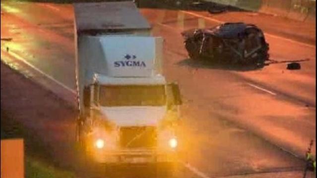 96 at Livernois crash scene